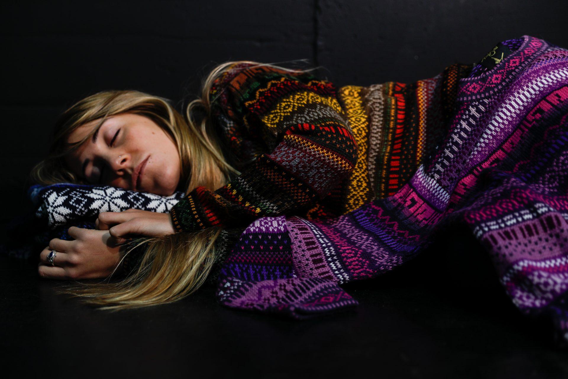 women alpaca sweater