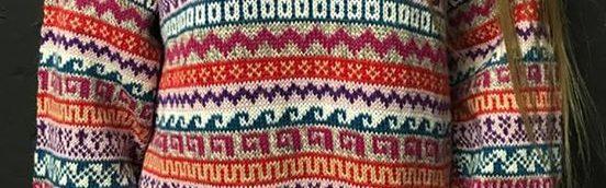 Alt+unisex alpaca sweater