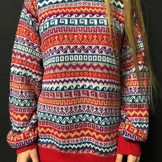 unisex alpaca sweater